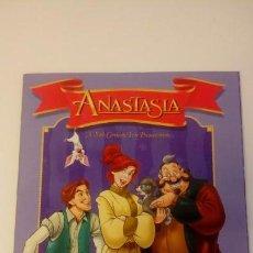 Coleccionismo Álbum: ANASTASIA. COMPLETA. ALBUM CON CROMOS PEGADOS. CONTIENE COFRE RECORTABLE. PANINI. 1998. Lote 144759170