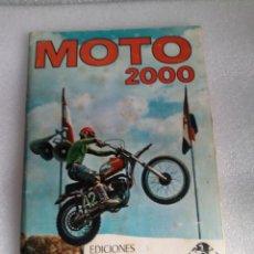 Coleccionismo Álbum: ALBUM DE CROMOS MOTO 2000 - VULCANO PANINI 1973 - COMPLETO CROMO MOTOS. Lote 144828634