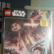 Coleccionismo Álbum: ÁLBUM COMPLETO LEGO STAR WARS SERIE 1. Lote 144924182