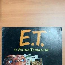 Coleccionismo Álbum: ET. EL EXTRATERRESTRE COLECCIÓN ÁLBUM ESTE COLECCIÓN 120 CROMOS COMPLETO. Lote 145037494