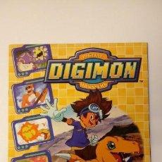 Coleccionismo Álbum: DIGITAL DIGIMON MONSTERS. ALBUM COMPLETO CON CROMOS PEGADOS. INCLUYE POSTER. PANINI. 2000. . Lote 145037646