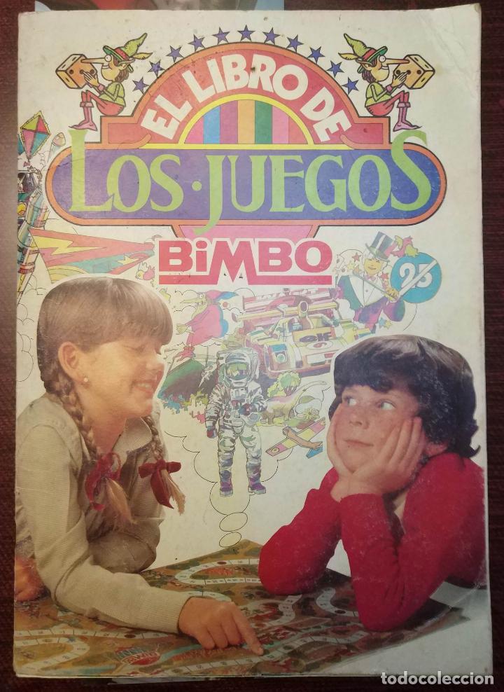 ALBUM DE CROMOS EL LIBRO DE LOS JUEGOS (COMPLETO + 5 RECORTABLES) (BIMBO 1979) (Coleccionismo - Cromos y Álbumes - Álbumes Completos)