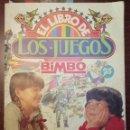 Coleccionismo Álbum: ALBUM DE CROMOS EL LIBRO DE LOS JUEGOS (COMPLETO + 5 RECORTABLES) (BIMBO 1979). Lote 145107994