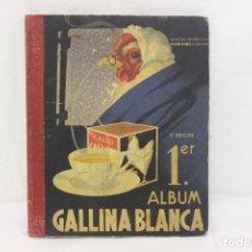 Coleccionismo Álbum: PRIMER ÁLBUM GALLINA BLANCA 3ª EDICIÓN COMPLETO.. Lote 145126530