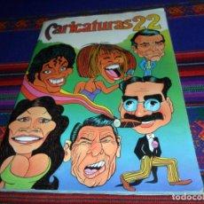Coleccionismo Álbum: CARICATURAS 22 COMPLETO 210 CROMOS. CROMOS ROS 1987.. Lote 145180466