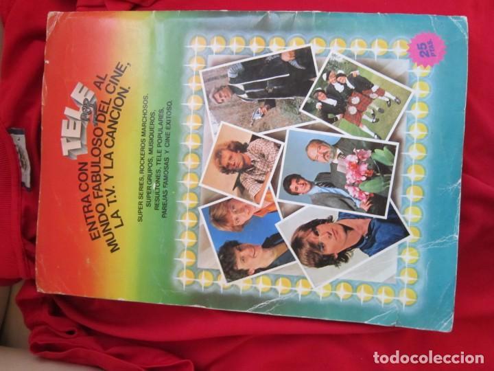 Coleccionismo Álbum: ALBUM DE CROMOS TELE POP COMPLETO 156 CROMOS EDICIONES ESTE 1981 - Foto 2 - 145187082