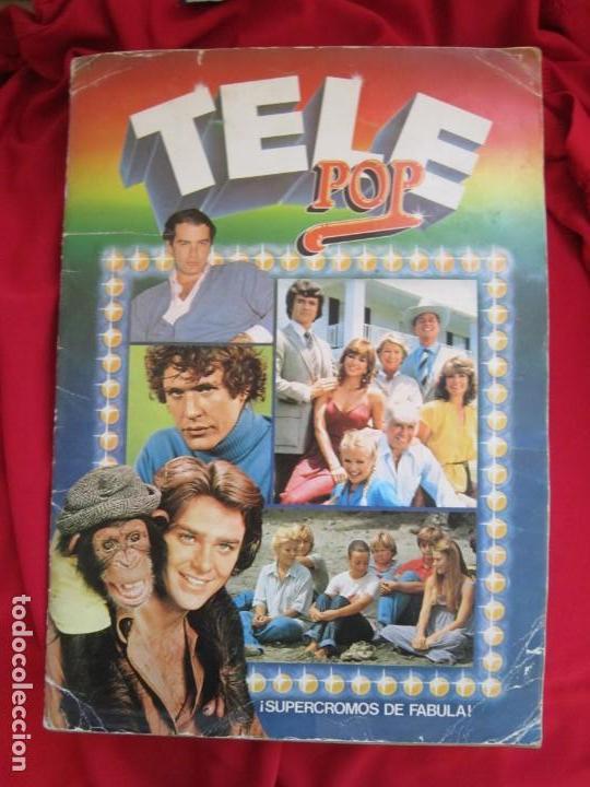 ALBUM DE CROMOS TELE POP COMPLETO 156 CROMOS EDICIONES ESTE 1981 (Coleccionismo - Cromos y Álbumes - Álbumes Completos)