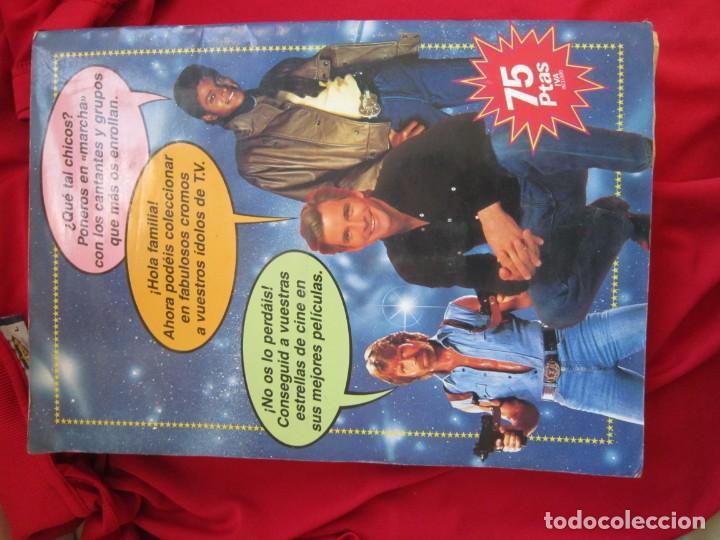 Coleccionismo Álbum: ALBUM DE CROMOS SUPER STARS COMPLETO 216 CROMOS EDICIONES ESTE 1986 - Foto 2 - 145187474