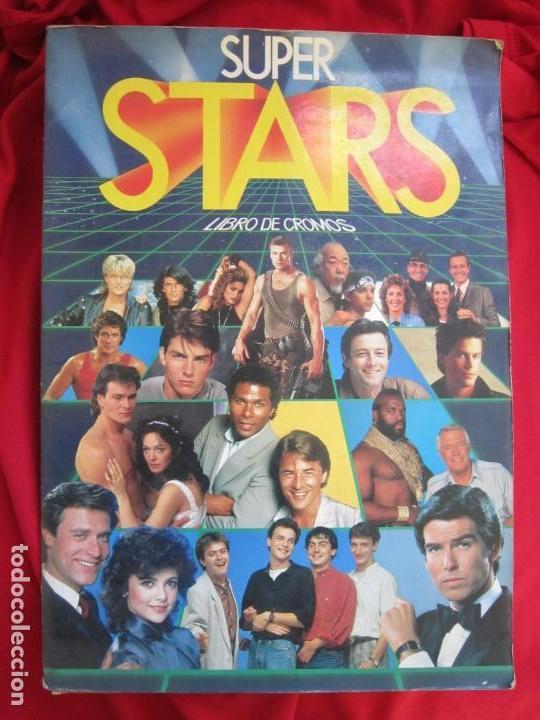 ALBUM DE CROMOS SUPER STARS COMPLETO 216 CROMOS EDICIONES ESTE 1986 (Coleccionismo - Cromos y Álbumes - Álbumes Completos)