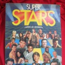 Coleccionismo Álbum: ALBUM DE CROMOS SUPER STARS COMPLETO 216 CROMOS EDICIONES ESTE 1986. Lote 145187474