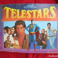 Coleccionismo Álbum: ALBUM DE CROMOS TELE STARS- ALBUM DE ESTRELLAS. COMPLETO 209 CROMOS EDICIONES ESTE 1978. Lote 145188124