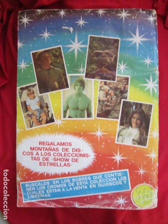 Coleccionismo Álbum: ALBUM DE CROMOS SHOW DE ESTRELLAS. COMPLETO A FALTA DEL CROMO 209. EDITORIAL MAGA 1982 - Foto 2 - 145189002