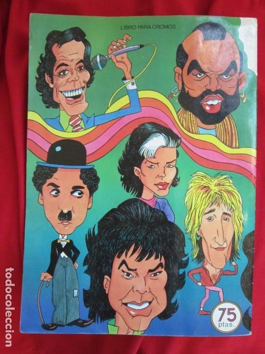 Coleccionismo Álbum: ALBUM DE CROMOS CARICATURAS 22. COMPLETO 210 CROMOS. EDITORIAL ROS 1987 - Foto 2 - 145189490