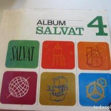 Coleccionismo Álbum: ALBUM SALVAT 4. COMPLETO. BUEN ESTADO. 169 HOJAS COMPLETAS DE CROMOS. BUEN ESTADO VSD01. Lote 145226050