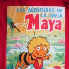 Sammeln Sammelalbum - ALBUM DE CROMOS LAS AVENTURAS DE LA ABEJA MAYA. COMPLETO 94 CROMOS. DANONE 1977 MBE - 145234906