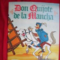 Coleccionismo Álbum: ALBUM DE CROMOS DON QUIJOTE DE LA MANCHA. COMPLETO 94 CROMOS. DANONE 1979 MBE. Lote 145235294