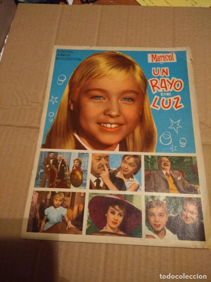 MARISOL : UN RAYO DE LUZ ( ALBUM DE CROMOS COMPLETO ) EDITORIAL FHER, 1961 (Coleccionismo - Cromos y Álbumes - Álbumes Completos)