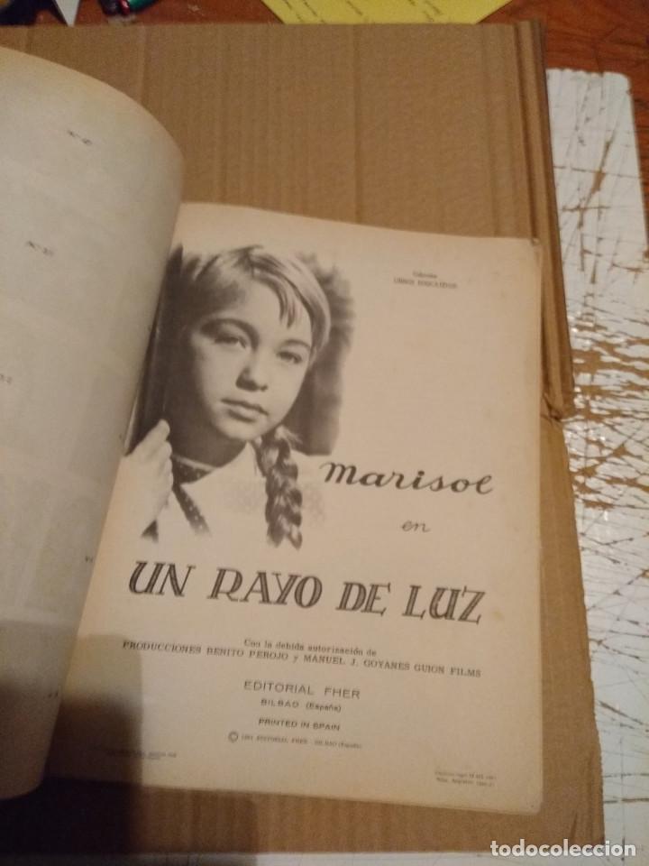 Coleccionismo Álbum: MARISOL : UN RAYO DE LUZ ( ALBUM DE CROMOS COMPLETO ) EDITORIAL FHER, 1961 - Foto 5 - 145336874