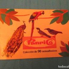 Coleccionismo Álbum: PAJAROS PANRICO . Lote 145433482