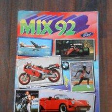 Coleccionismo Álbum: ALBUM CROMOS COMPLETO MIX 92 ROS ROBOCOP RAMBO ALBUN VIDEO JUEGOS AMSTRAD COMMODORE SPECTRUM. Lote 145504534
