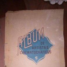 Coleccionismo Álbum: ÁLBUM DE ARTISTAS CINEMATOGRÁFICOS. COMPLETO. POSTALES. GRAN LOTE . Lote 145648910