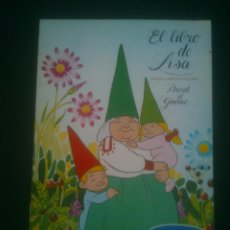 Coleccionismo Álbum: EL LIBRO DE LISA - DAVID EL GNOMO DANONE. Lote 145666914