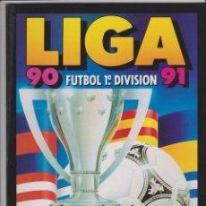 Coleccionismo Álbum: ALBUM FACSIMIL LIGA ESTE PANINI 1990-1991. COMO NUEVO 90-91.SALVAT. Lote 145778018