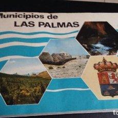 Coleccionismo Álbum: MUNICIPIOS DE LAS PALMAS ALBUN COMPLETO 1977 CLUB JUVENIL CAJA INSULAR DE AHORROS. Lote 145912378