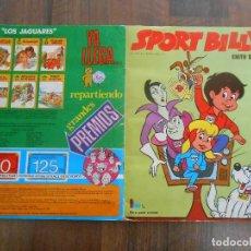 Coleccionismo Álbum: ALBUM CROMOS COMPLETO SPORT BILLY EDITORIAL FHER 1981 BILY BILLI FUTBOL FOOTBALL ALFREEDOM CROMO. Lote 145997638