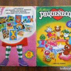 Coleccionismo Álbum: ALBUM CROMOS COMPLETO LOS PEQUEÑECOS TELEÑECOS EDITORIAL ESTE 1986 ALBUN MARIONETAS ALFREEDOM. Lote 146000090