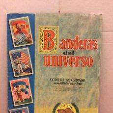 Coleccionismo Álbum: PRECIOSO ALBUM COMPLETO - BANDERAS DEL UNIVERSO - MUY BIEN CONSERVADO.. Lote 146218366