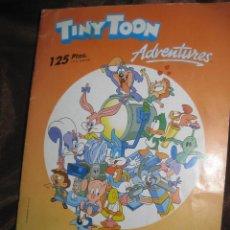Coleccionismo Álbum: TINY TOON ADVENTURES. ALBUM COMPLETO 154 CROMOS. ASTON DE EDICIONES 1991.. Lote 146220202