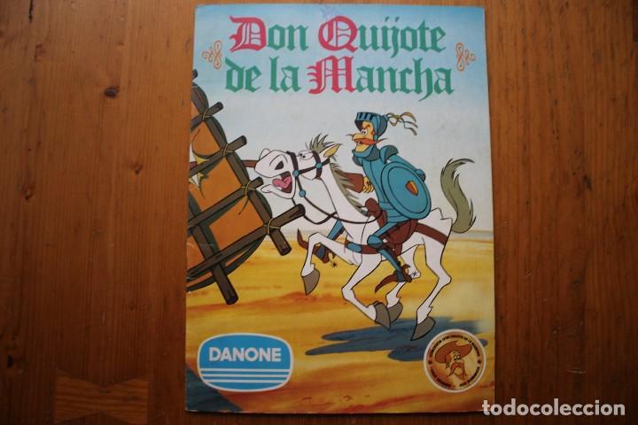 ALBUM DON QUIJOTE DE LA MANCHA DANONE COMPLETO (Coleccionismo - Cromos y Álbumes - Álbumes Completos)