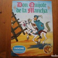 Coleccionismo Álbum: ALBUM DON QUIJOTE DE LA MANCHA DANONE COMPLETO. Lote 146238962
