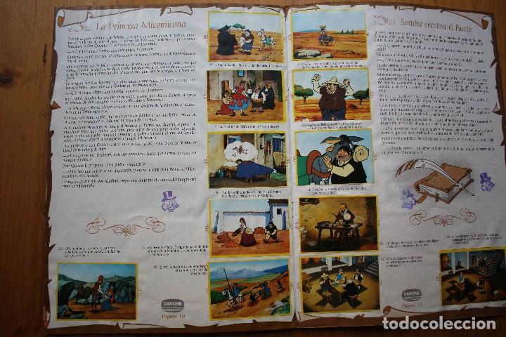 Coleccionismo Álbum: ALBUM DON QUIJOTE DE LA MANCHA DANONE COMPLETO - Foto 2 - 146238962