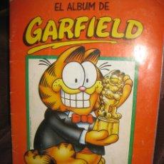 Coleccionismo Álbum: EL ALBUM DE GARFIELD. JIM DAVIS. ALBUM DE CROMOS COMPLETO. PANINI . Lote 146285570