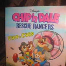 Coleccionismo Álbum: CHIP IN DALE. RESCUE TANGERS. CHIP Y CHOP. ALBUM DE CROMOS COMPLETO. PANINI - DISNEY 1989 . Lote 146286422