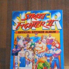 Coleccionismo Álbum: ALBUM CROMOS COMPLETO STREET FIGHTER II CAPCOM MERLIN COLLECTIONS ALBUN CROMO VIDEOJUEGO GAME VIDEO . Lote 146334910