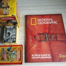 Coleccionismo Álbum: NATIONAL GEOGRAPHIC PANINI COLECCION COMPLETA. Lote 146349396