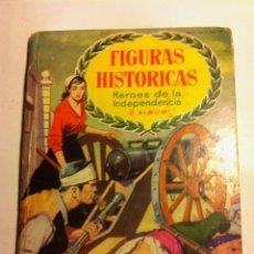 Coleccionismo Álbum: FIGURAS HISTÓRICAS - HÉROES DE LA INDEPENDENCIA - II ALBUM. Lote 146402010