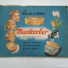 Coleccionismo Álbum: ALBUM DE CROMOS MANTECOBER. VITAMINADO. PRODUCTOS GIRONES BADALONA. TDKC38. Lote 146489838