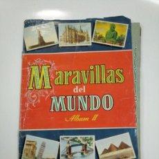 Coleccionismo Álbum: ÁLBUM MARAVILLAS DEL MUNDO ALBUM NUMERO II COLECCION CULTURA BRUGUERA. 1956. COMPLETO. TDKC38. Lote 146490326
