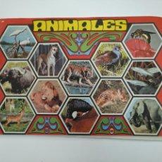 Coleccionismo Álbum: ALBUM ANIMALES.- EDITORIAL FHER.- 1970. COMPLETO DE 146 CROMOS. TDKC38. Lote 146493998
