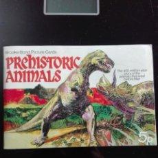 Coleccionismo Álbum: PREHISTORIC ANIMALS EN INGLÉS. Lote 146616438