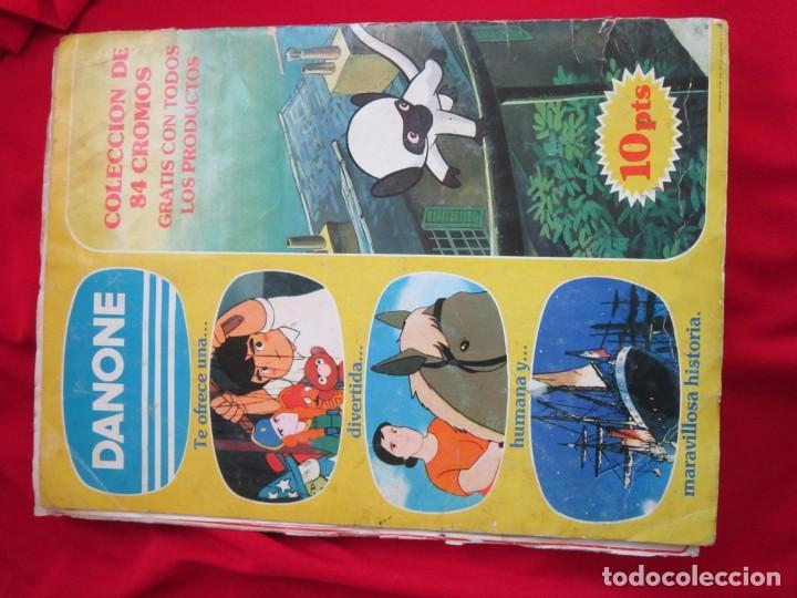 Coleccionismo Álbum: ALBUM COMPLETO MARCO. DE LOS APENINOS A LOS ANDES. 1ª PARTE DANONE 1976. 84 CROMOS - Foto 2 - 146650210