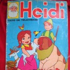 Coleccionismo Álbum: ALBUM COMPLETO HEIDI. EXITO DE TELEVISION. MIYAZAKI. EDITORIAL FHER, 1975. 210 CROMOS. Lote 146652186