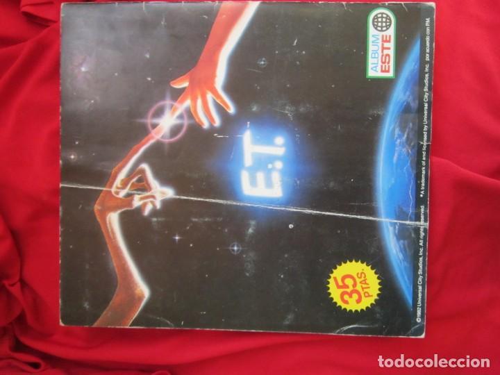 Coleccionismo Álbum: ALBUM COMPLETO E.T. EL EXTRATERRESTRE. STEVEN SPIELBERG,EDICIONES ESTE 1982. 120 CROMOS - Foto 2 - 146652678