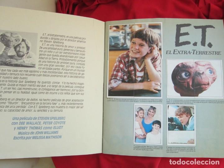 Coleccionismo Álbum: ALBUM COMPLETO E.T. EL EXTRATERRESTRE. STEVEN SPIELBERG,EDICIONES ESTE 1982. 120 CROMOS - Foto 3 - 146652678