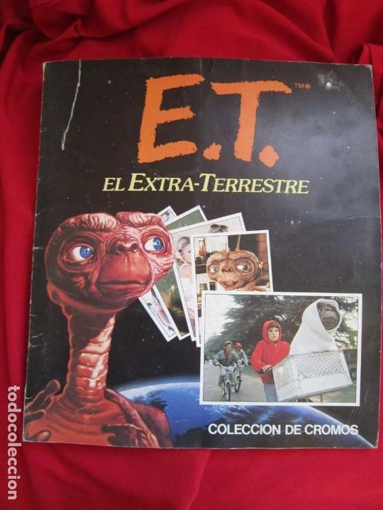 ALBUM COMPLETO E.T. EL EXTRATERRESTRE. STEVEN SPIELBERG,EDICIONES ESTE 1982. 120 CROMOS (Coleccionismo - Cromos y Álbumes - Álbumes Completos)