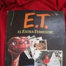 Coleccionismo Álbum: ALBUM COMPLETO E.T. EL EXTRATERRESTRE. STEVEN SPIELBERG,EDICIONES ESTE 1982. 120 CROMOS. Lote 146652678